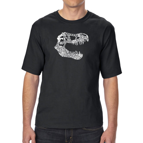 LA Pop Art Men's Tall Word Art T-shirt - TREX