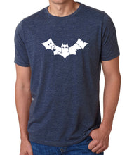 Load image into Gallery viewer, LA Pop Art Men's Premium Blend Word Art T-shirt - BAT - BITE ME