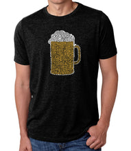 Load image into Gallery viewer, LA Pop Art Men's Premium Blend Word Art T-shirt - Slang Terms for Being Wasted