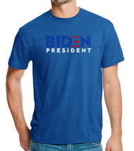 Load image into Gallery viewer, LA Pop Art Men's Premium Blend Word Art T-shirt - Biden 2020
