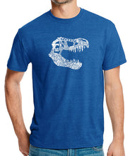 Load image into Gallery viewer, LA Pop Art Men's Premium Blend Word Art T-shirt - TREX