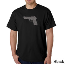 Load image into Gallery viewer, LA Pop Art Men's Word Art T-shirt - RIGHT TO BEAR ARMS