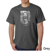 Load image into Gallery viewer, LA Pop Art Men's Word Art T-shirt - JESUS