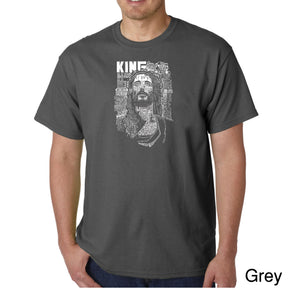 LA Pop Art Men's Word Art T-shirt - JESUS