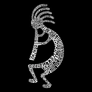 LA Pop Art Men's Word Art Tank Top - Kokopelli
