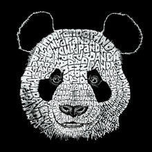 Load image into Gallery viewer, LA Pop Art Boy's Word Art T-shirt - Panda