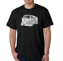 Load image into Gallery viewer, LA Pop Art Men's Word Art T-shirt - THE 70'S