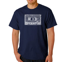 Load image into Gallery viewer, LA Pop Art Men's Word Art T-shirt - The 80's