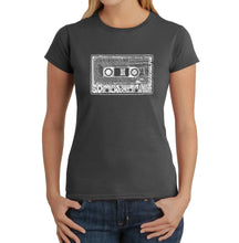 Load image into Gallery viewer, LA Pop Art Women's Word Art T-Shirt - The 80's