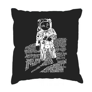 LA Pop Art Throw Pillow Cover - ASTRONAUT