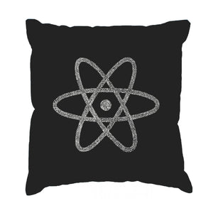 LA Pop Art Throw Pillow Cover - ATOM