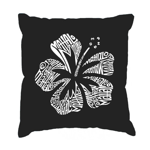 LA Pop Art Throw Pillow Cover - Mahalo