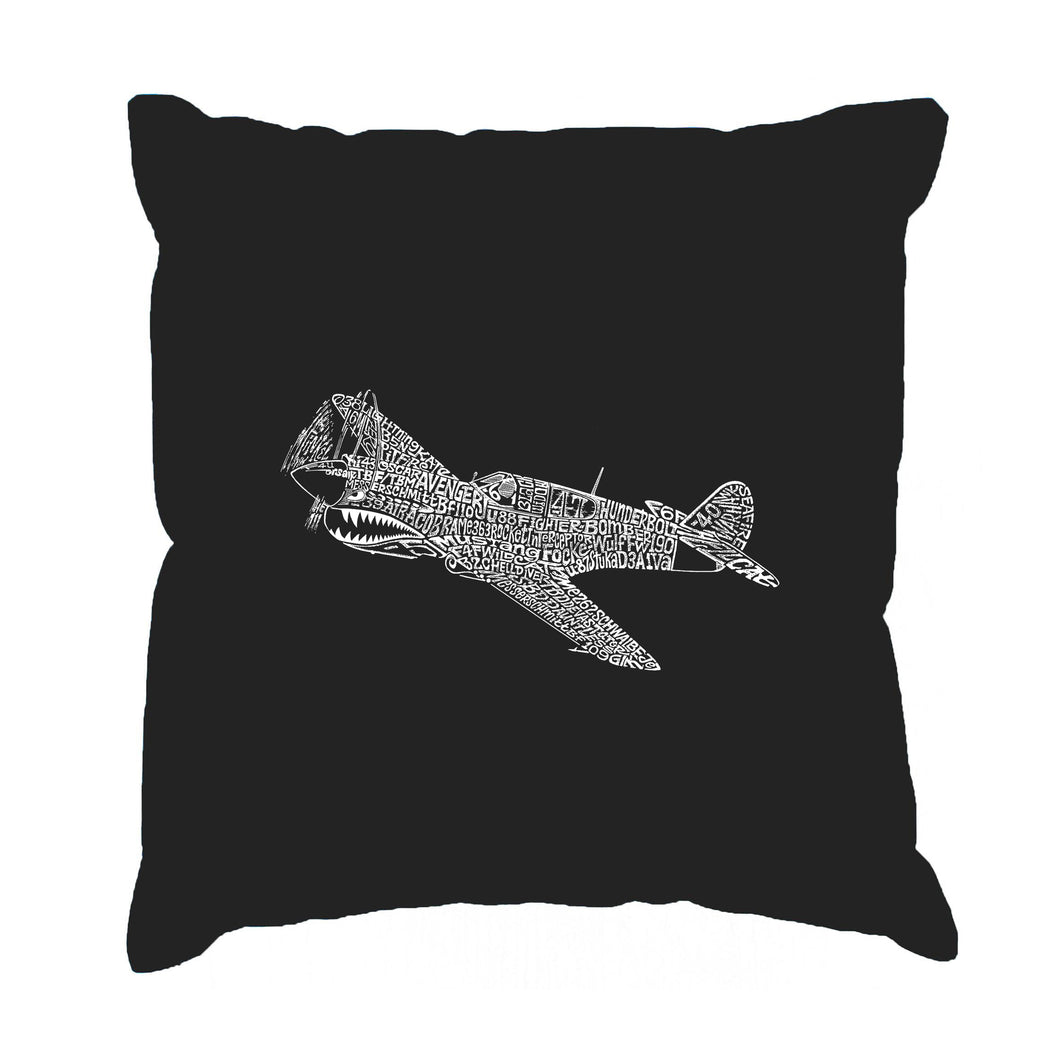 LA Pop Art Throw Pillow Cover - P40