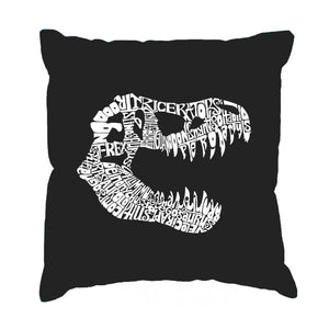 LA Pop Art Throw Pillow Cover - TREX