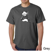 Load image into Gallery viewer, LA Pop Art Men's Word Art T-shirt - ENDANGERED SPECIES