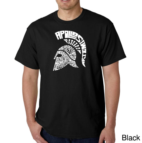 LA Pop Art Men's Word Art T-shirt - SPARTAN