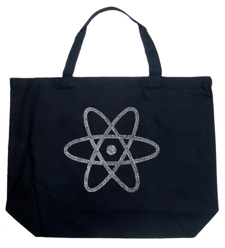 LA Pop Art Large Word Art Tote Bag - ATOM