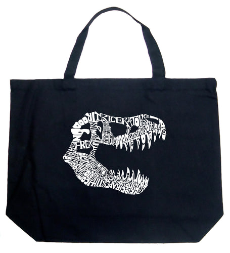 LA Pop Art Large Word Art Tote Bag - TREX