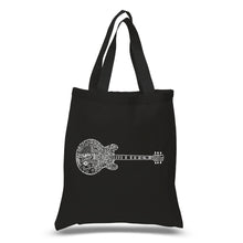 Load image into Gallery viewer, LA Pop Art Small Word Art Tote Bag - Blues Legends