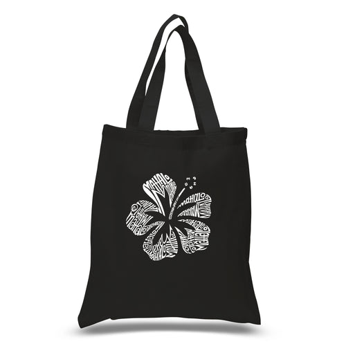 LA Pop Art Small Word Art Tote Bag - Mahalo