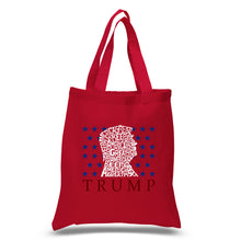 Load image into Gallery viewer, LA Pop Art Small Word Art Tote Bag - Keep America Great