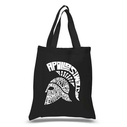 LA Pop Art Small Word Art Tote Bag - SPARTAN