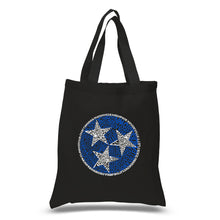 Load image into Gallery viewer, LA Pop Art Small Word Art Tote Bag - Tennessee Tristar