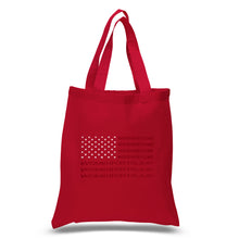 Load image into Gallery viewer, LA Pop Art Small Word Art Tote Bag - Women For Trump