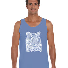 Load image into Gallery viewer, LA Pop Art  Men's Word Art Tank Top - Big Cats