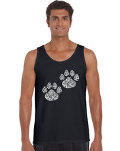 Load image into Gallery viewer, LA Pop Art Men's Word Art Tank Top - Cat Mom