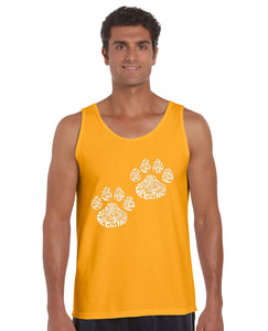 LA Pop Art Men's Word Art Tank Top - Cat Mom