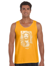 Load image into Gallery viewer, LA Pop Art Men's Word Art Tank Top - JESUS