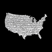 Load image into Gallery viewer, LA Pop Art Men's Word Art T-shirt - THE STAR SPANGLED BANNER