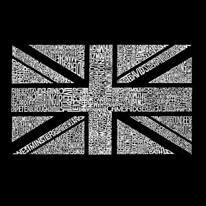 LA Pop Art Women's Word Art T-Shirt - UNION JACK