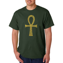 Load image into Gallery viewer, LA Pop Art Men's Word Art T-shirt - ANKH