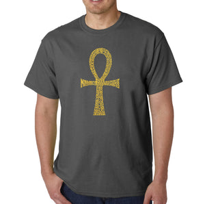 LA Pop Art Men's Word Art T-shirt - ANKH