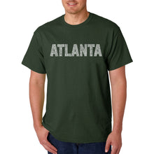 Load image into Gallery viewer, LA Pop Art Men's Word Art T-shirt - ATLANTA NEIGHBORHOODS