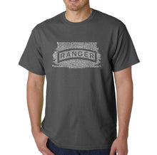 Load image into Gallery viewer, LA Pop Art Men's Word Art T-shirt - The US Ranger Creed