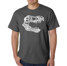 Load image into Gallery viewer, LA Pop Art Men's Word Art T-shirt - TREX