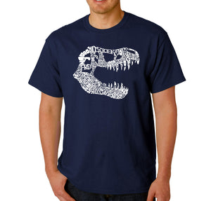 LA Pop Art Men's Word Art T-shirt - TREX