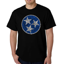 Load image into Gallery viewer, LA Pop Art Men's Word Art T-shirt - Tennessee Tristar