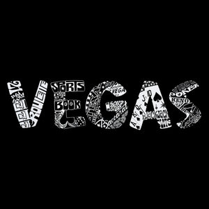 LA Pop Art Men's Word Art T-shirt - VEGAS