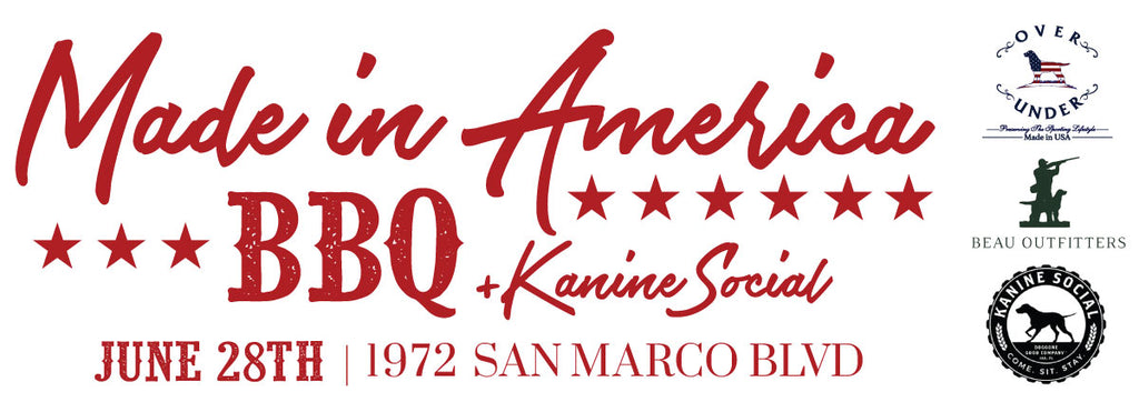 Made In America BBQ and Kanine Social