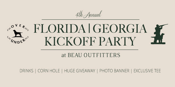 Florida Georgia Kickoff Party | Beau X Over Under