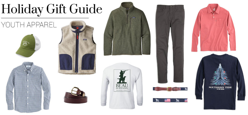 2019 Gift Guide - Youth Apparel