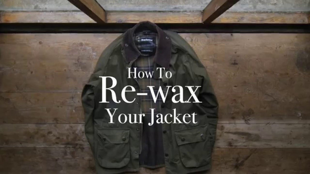 How to Re-Wax Your Barbour Jacket