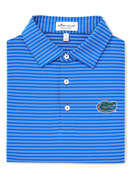 Mascot Stripe Stretch Polo UF