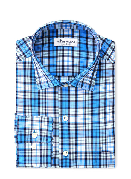 Dale Plaid Perf Natural Touch Shirt