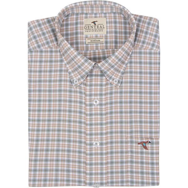 Livingston Plaid Sport Shirt
