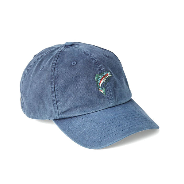 Washed Low Profile Cap - Fish